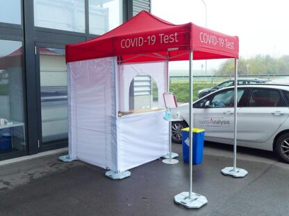 Covid-19 Corona Testzelt