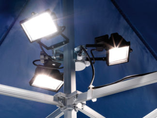 Halogen Spotlampe für MASTERTENT