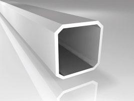 Aluminium Profil mit 2.5 mm Wandstärke