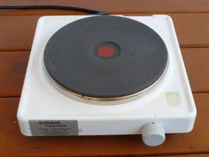 Elektro Rechaud 1 Platte