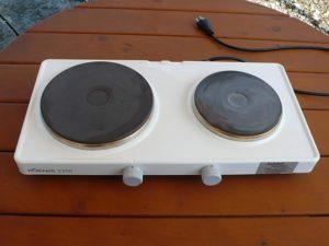 Elektro Rechaud 2 Platten