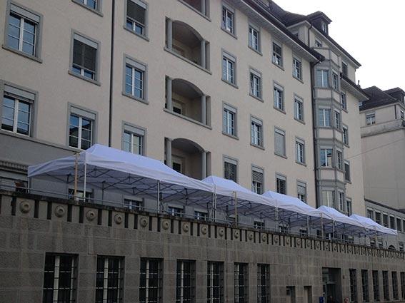 Zelt mieten Zürich